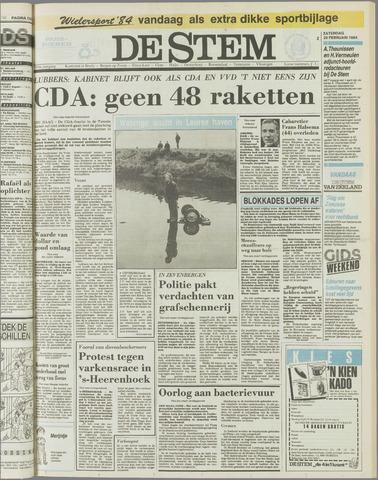 de Stem 1984-02-25