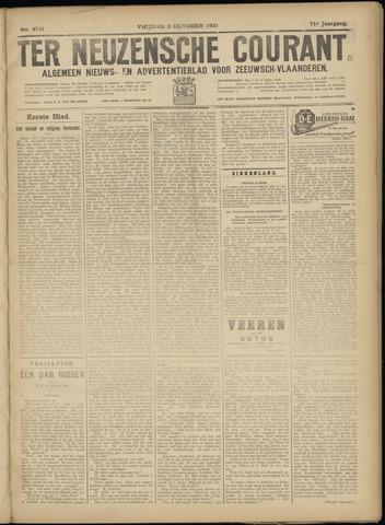 Ter Neuzensche Courant. Algemeen Nieuws- en Advertentieblad voor Zeeuwsch-Vlaanderen / Neuzensche Courant ... (idem) / (Algemeen) nieuws en advertentieblad voor Zeeuwsch-Vlaanderen 1931-10-02