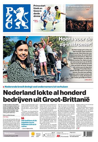 Provinciale Zeeuwse Courant 2019-08-26