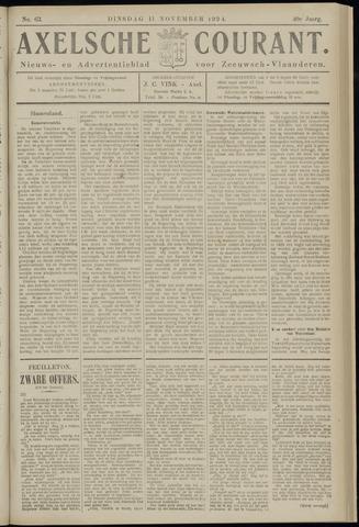 Axelsche Courant 1924-11-11