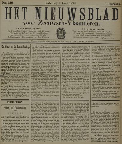Nieuwsblad voor Zeeuwsch-Vlaanderen 1898-06-04