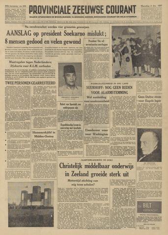 Provinciale Zeeuwse Courant 1957-12-02