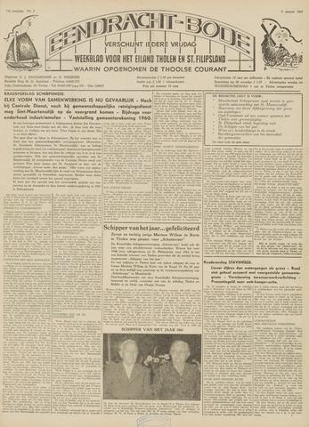 Eendrachtbode (1945-heden)/Mededeelingenblad voor het eiland Tholen (1944/45) 1962
