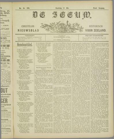 De Zeeuw. Christelijk-historisch nieuwsblad voor Zeeland 1896-05-14
