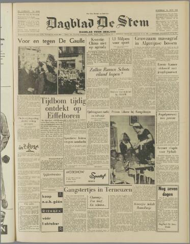 de Stem 1958-09-24