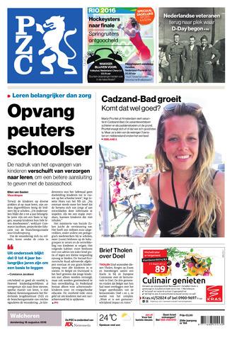 Provinciale Zeeuwse Courant 2016-08-18