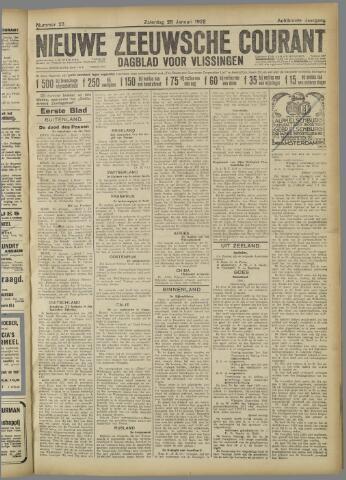 Nieuwe Zeeuwsche Courant 1922-01-28