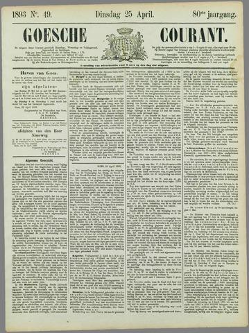 Goessche Courant 1893-04-25