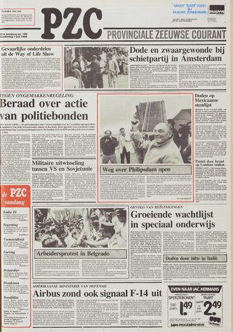 Provinciale Zeeuwse Courant 1988-07-07