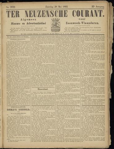 Ter Neuzensche Courant. Algemeen Nieuws- en Advertentieblad voor Zeeuwsch-Vlaanderen / Neuzensche Courant ... (idem) / (Algemeen) nieuws en advertentieblad voor Zeeuwsch-Vlaanderen 1892-05-28
