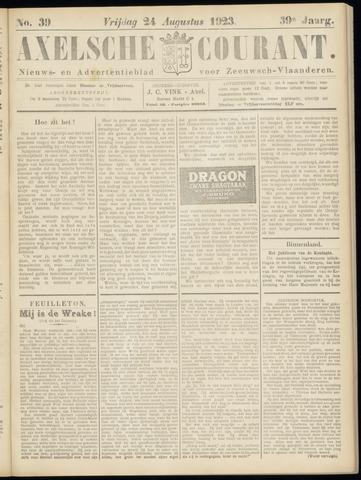 Axelsche Courant 1923-08-24