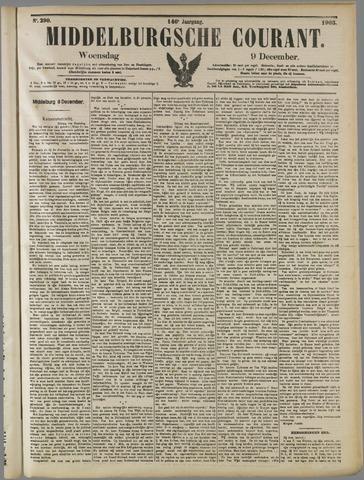 Middelburgsche Courant 1903-12-09