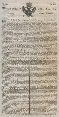 Middelburgsche Courant 1776-12-14