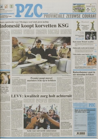 Provinciale Zeeuwse Courant 2004-01-08