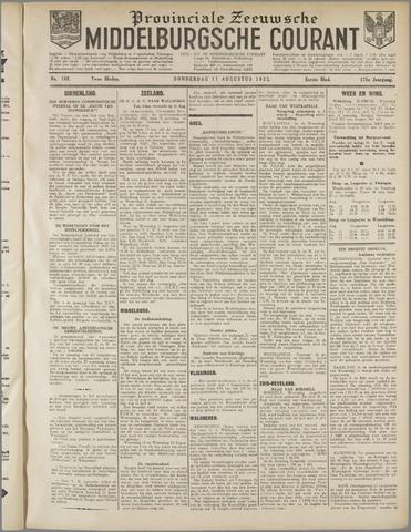 Middelburgsche Courant 1932-08-11