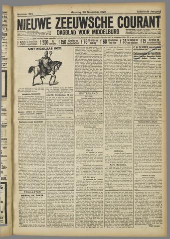 Nieuwe Zeeuwsche Courant 1922-11-20