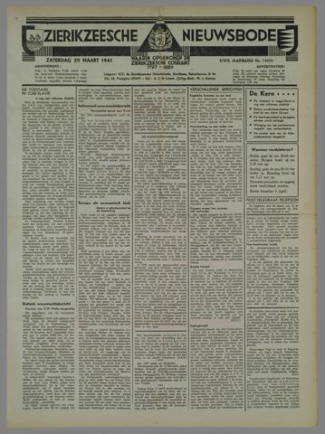 Zierikzeesche Nieuwsbode 1941-03-29