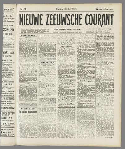 Nieuwe Zeeuwsche Courant 1911-07-25