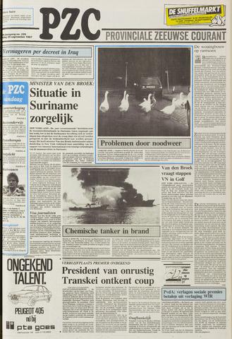 Provinciale Zeeuwse Courant 1987-09-25