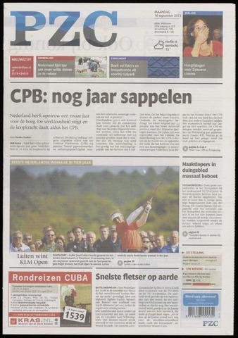 Provinciale Zeeuwse Courant 2013-09-16