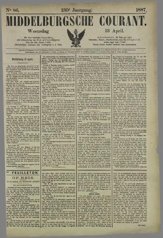 Middelburgsche Courant 1887-04-13