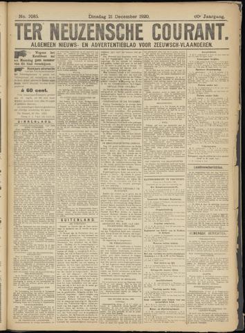 Ter Neuzensche Courant. Algemeen Nieuws- en Advertentieblad voor Zeeuwsch-Vlaanderen / Neuzensche Courant ... (idem) / (Algemeen) nieuws en advertentieblad voor Zeeuwsch-Vlaanderen 1920-12-21