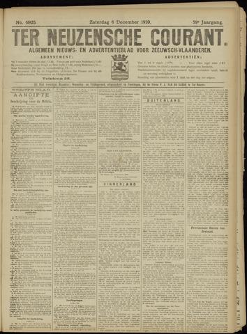 Ter Neuzensche Courant. Algemeen Nieuws- en Advertentieblad voor Zeeuwsch-Vlaanderen / Neuzensche Courant ... (idem) / (Algemeen) nieuws en advertentieblad voor Zeeuwsch-Vlaanderen 1919-12-06
