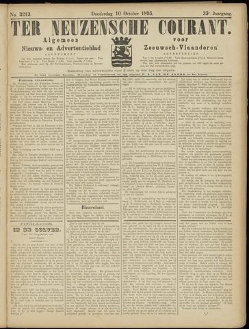 Ter Neuzensche Courant. Algemeen Nieuws- en Advertentieblad voor Zeeuwsch-Vlaanderen / Neuzensche Courant ... (idem) / (Algemeen) nieuws en advertentieblad voor Zeeuwsch-Vlaanderen 1895-10-10