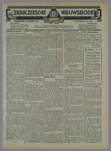Zierikzeesche Nieuwsbode 1941-03-20
