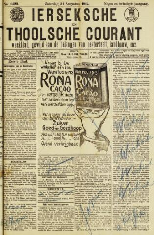 Ierseksche en Thoolsche Courant 1912-08-31