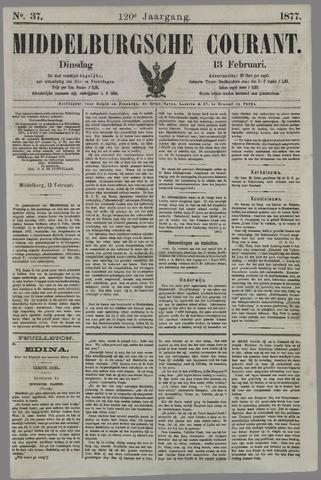 Middelburgsche Courant 1877-02-13