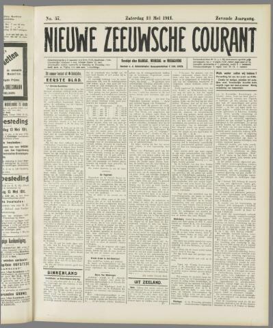 Nieuwe Zeeuwsche Courant 1911-05-13