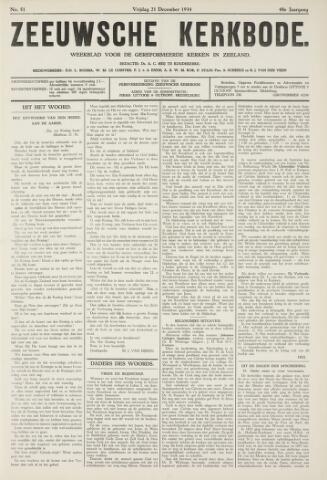 Zeeuwsche kerkbode, weekblad gewijd aan de belangen der gereformeerde kerken/ Zeeuwsch kerkblad 1934-12-21