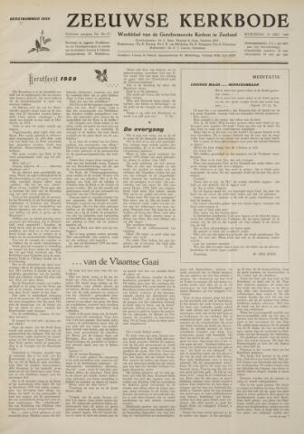 Zeeuwsche kerkbode, weekblad gewijd aan de belangen der gereformeerde kerken/ Zeeuwsch kerkblad 1959-12-25
