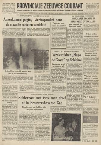 Provinciale Zeeuwse Courant 1958-08-18