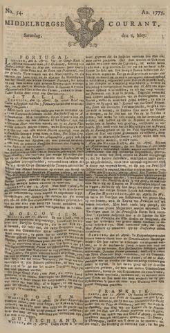 Middelburgsche Courant 1775-05-06