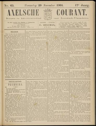 Axelsche Courant 1901-11-20