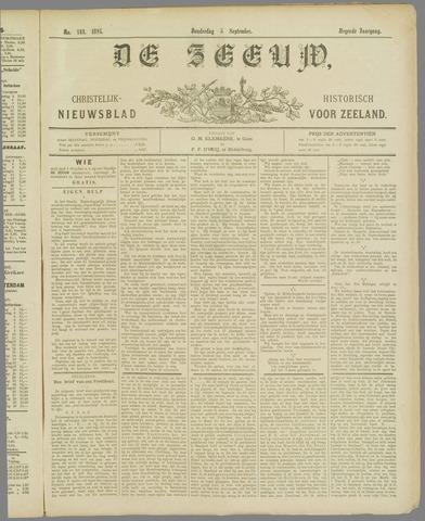 De Zeeuw. Christelijk-historisch nieuwsblad voor Zeeland 1895-09-05