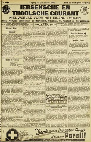 Ierseksche en Thoolsche Courant 1930-11-21