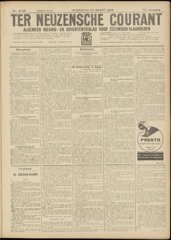 Ter Neuzensche Courant. Algemeen Nieuws- en Advertentieblad voor Zeeuwsch-Vlaanderen / Neuzensche Courant ... (idem) / (Algemeen) nieuws en advertentieblad voor Zeeuwsch-Vlaanderen 1938-03-23