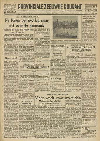 Provinciale Zeeuwse Courant 1951-03-24