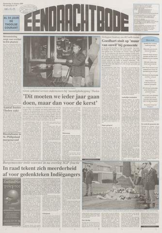 Eendrachtbode (1945-heden)/Mededeelingenblad voor het eiland Tholen (1944/45) 1999-10-21