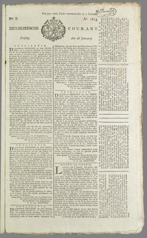 Zierikzeesche Courant 1814-01-28