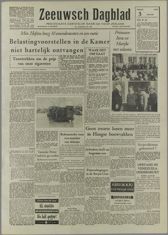 Zeeuwsch Dagblad 1958-01-03