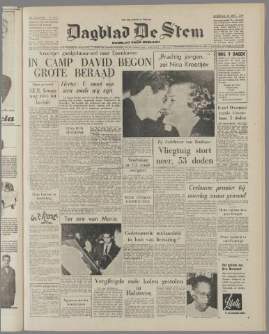 de Stem 1959-09-26