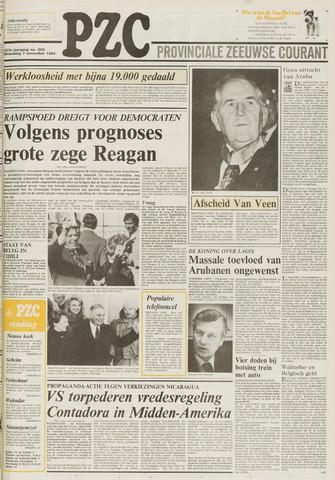 Provinciale Zeeuwse Courant 1984-11-07
