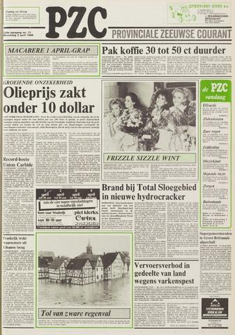 Provinciale Zeeuwse Courant 1986-04-02