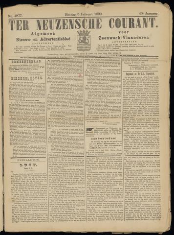 Ter Neuzensche Courant. Algemeen Nieuws- en Advertentieblad voor Zeeuwsch-Vlaanderen / Neuzensche Courant ... (idem) / (Algemeen) nieuws en advertentieblad voor Zeeuwsch-Vlaanderen 1900-02-06