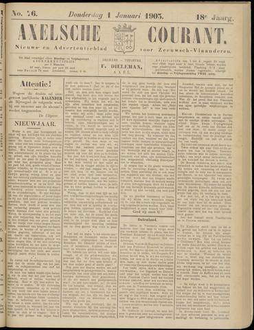 Axelsche Courant 1903