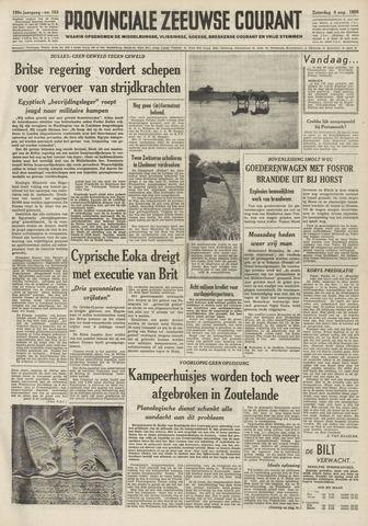 Provinciale Zeeuwse Courant 1956-08-04